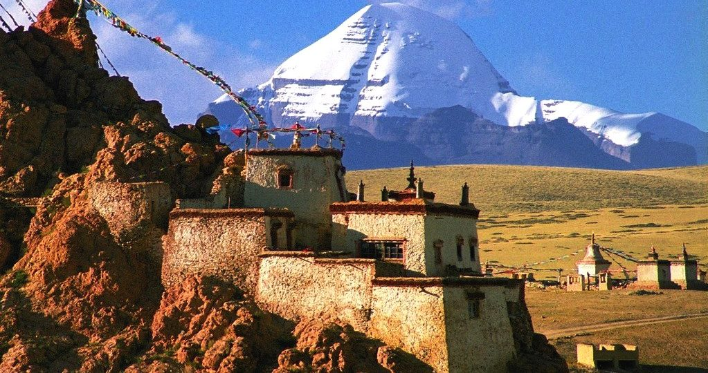 Best Kailash View from Chu Monastery